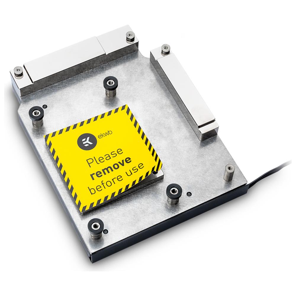 A large main feature product image of EK FB GA X470 Gaming 5 RGB Monoblock - Nickel
