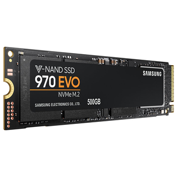 Product image of Samsung 970 EVO Series 500GB M.2 NVMe SSD - Click for product page of Samsung 970 EVO Series 500GB M.2 NVMe SSD