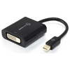 A product image of ALOGIC Elements 20cm Mini DisplayPort to DVI Adapter
