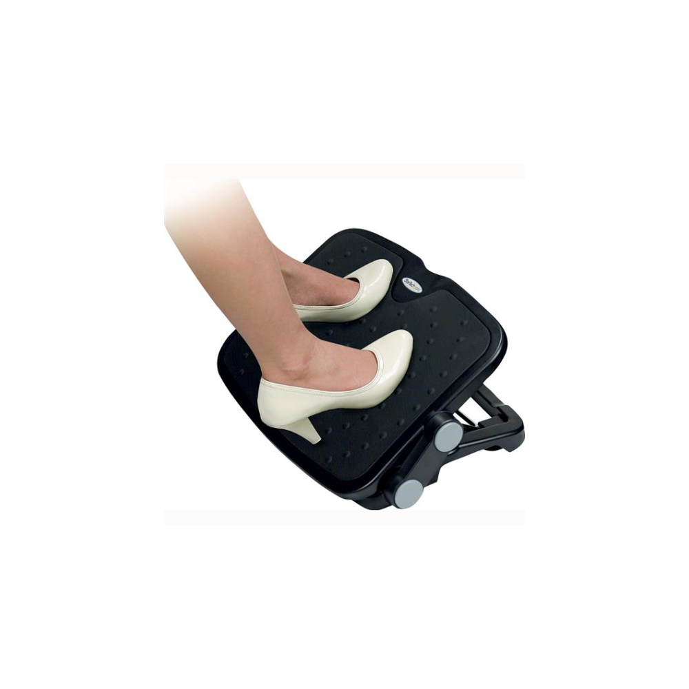 A large main feature product image of Startech Adjustable Under Desk Foot Rest - 18x14in Ergonomic Footrest