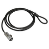 A product image of Startech Laptop Lock - Keyless 4 Digit - 6' Vinyl-Coated Steel Cable