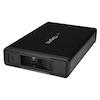 "A product image of Startech 3.5"" SATA Hard Drive Enclosure - USB 3.0 or eSATA - Trayless"