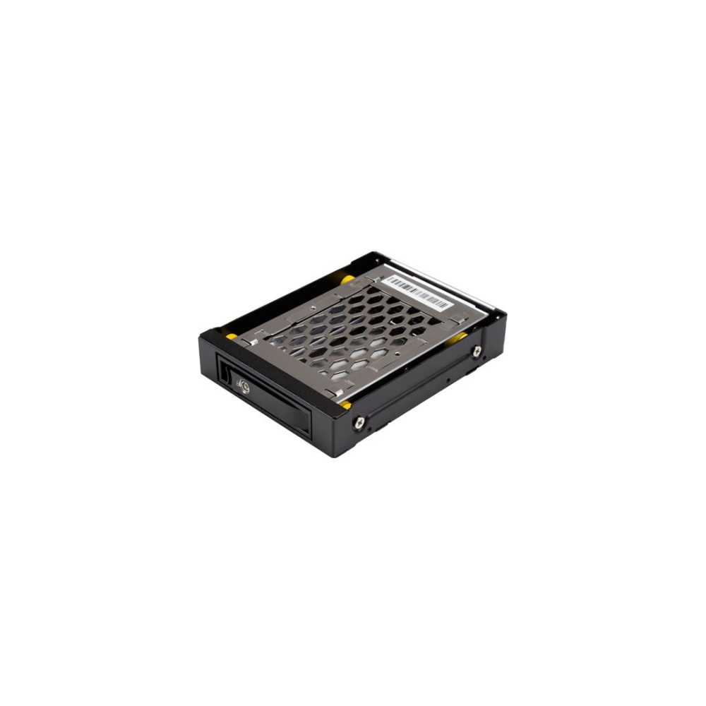 "A large main feature product image of Startech 2.5"" SATA Drive Hot Swap Bay for 3.5"" Bay - Anti-Vibration"