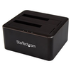 A product image of Startech Dual-Bay SATA HDD Dock Station - SATA HDD/SSD - USB 3.0