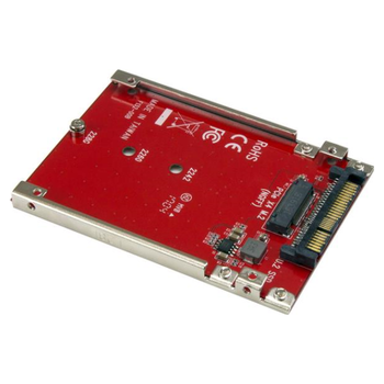Product image of Startech M.2 to U.2 (SFF-8639) Adapter for M.2 PCIe NVMe SSDs - Click for product page of Startech M.2 to U.2 (SFF-8639) Adapter for M.2 PCIe NVMe SSDs