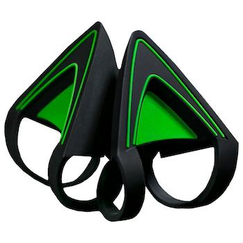 Product image of Razer Kraken Kitty Ears - Green - Click for product page of Razer Kraken Kitty Ears - Green