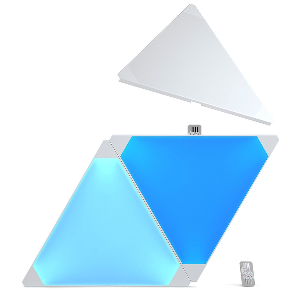 A large main feature product image of Nanoleaf Light Panels Expansion Kit (3 Pack)