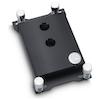 A product image of EK Supremacy sTR4 Nickel Acetal CPU Waterblock