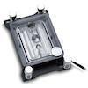 A product image of EK Supremacy sTR4 RGB Nickel CPU Waterblock