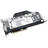 A product image of EK FC1070 GTX Ti ASUS RGB Plexi/Nickel Nvidia GPU Waterblock