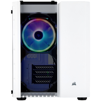 Product image of Corsair Crystal 280X RGB White mATX Case w/Tempered Glass Side Panel - Click for product page of Corsair Crystal 280X RGB White mATX Case w/Tempered Glass Side Panel