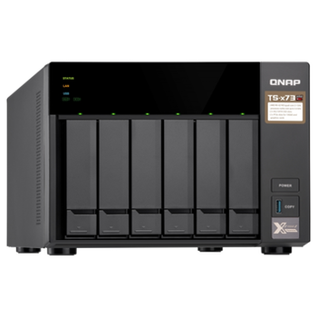 Product image of QNAP TS-673 3.4Ghz 8GB 6 Bay NAS Enclosure - Click for product page of QNAP TS-673 3.4Ghz 8GB 6 Bay NAS Enclosure