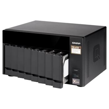 Product image of QNAP TS-873 3.4Ghz 8GB 8 Bay NAS Enclosure - Click for product page of QNAP TS-873 3.4Ghz 8GB 8 Bay NAS Enclosure