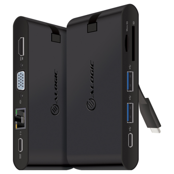 Product image of ALOGIC USB-C Travel Dock Pro w/ Power Delivery - Click for product page of ALOGIC USB-C Travel Dock Pro w/ Power Delivery