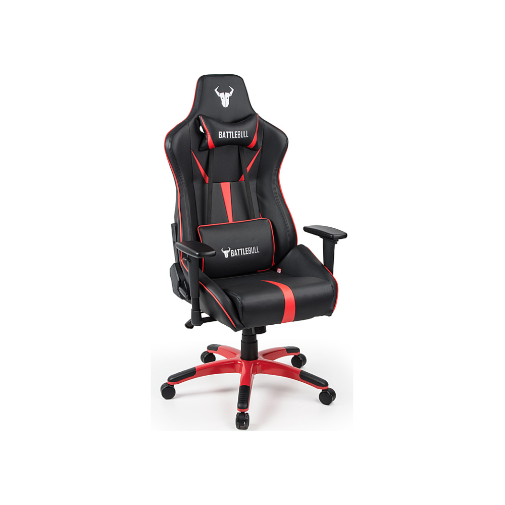 A large main feature product image of BattleBull Arrow Gaming Chair Black/Red