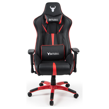 Product image of BattleBull Arrow Gaming Chair Black/Red - Click for product page of BattleBull Arrow Gaming Chair Black/Red