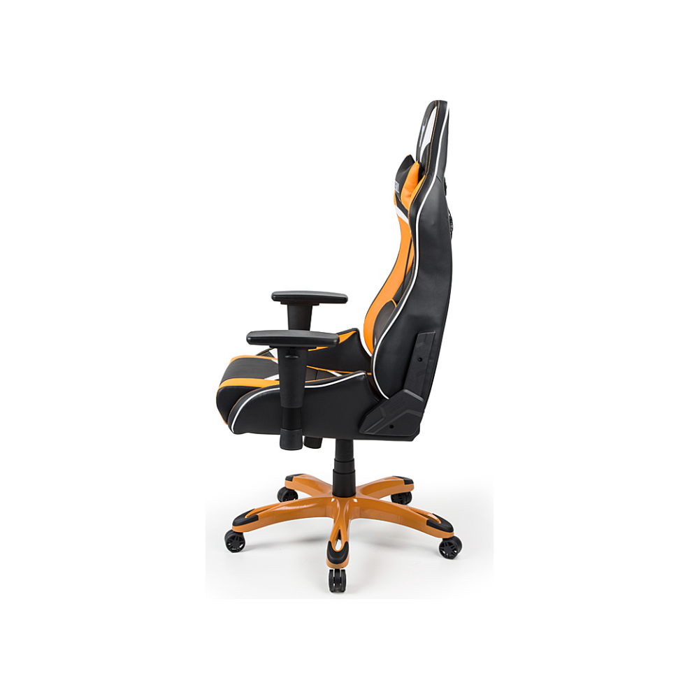 A large main feature product image of BattleBull Commander Gaming Chair Black/Orange/White
