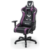 A product image of BattleBull Commander Gaming Chair Black/Purple/White