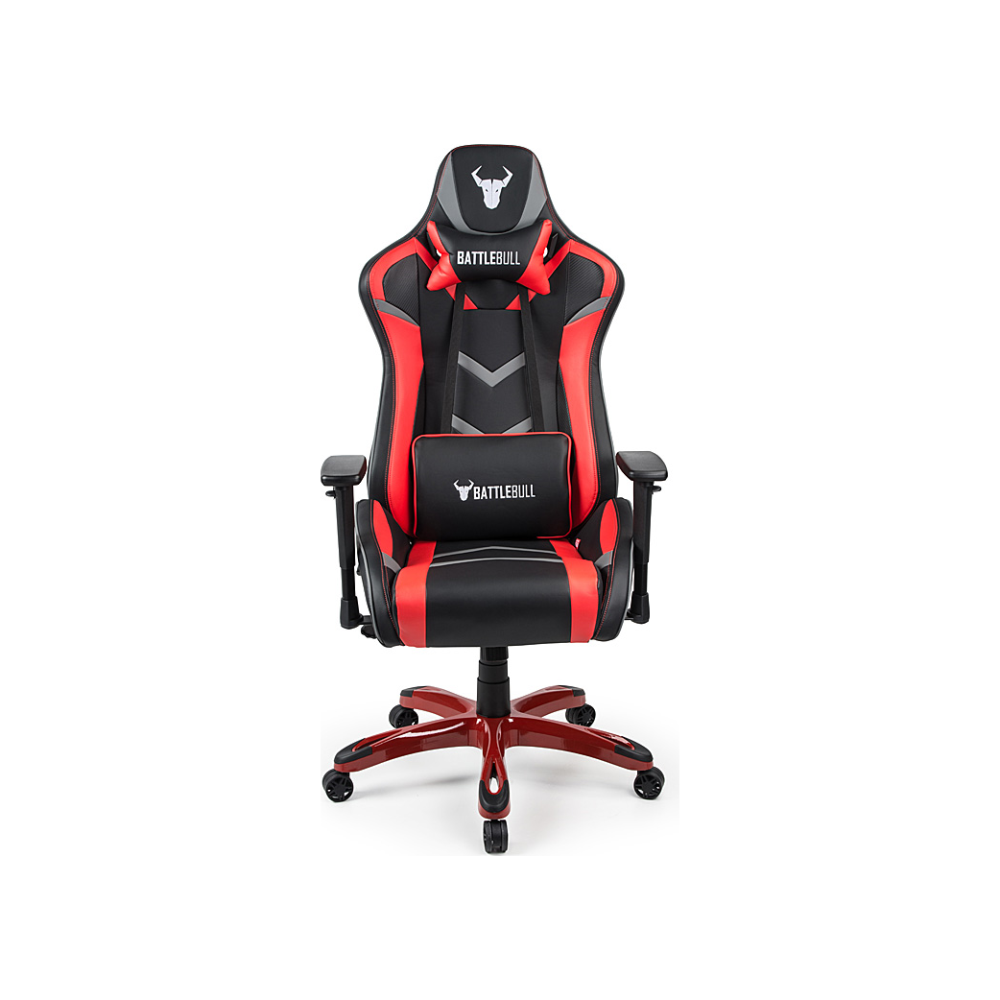 A large main feature product image of BattleBull Commander Gaming Chair Black/Red/Grey