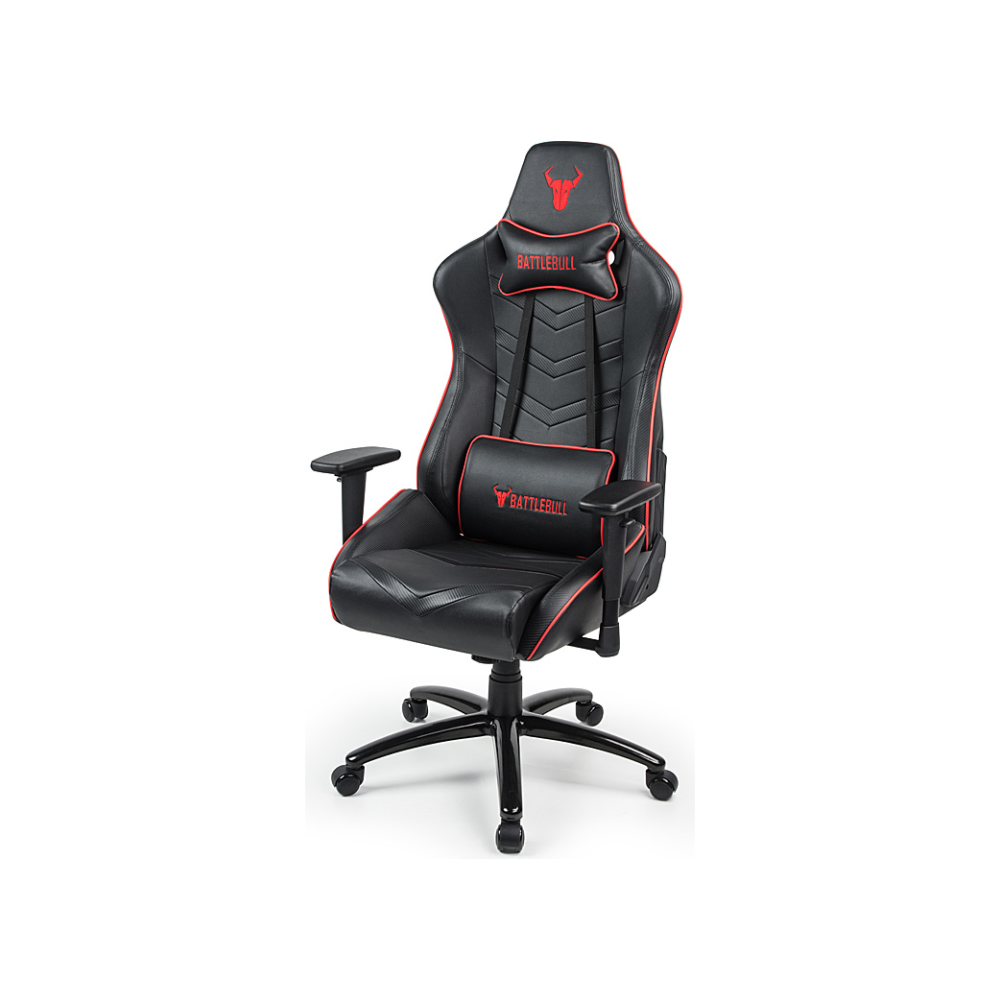 A large main feature product image of BattleBull Diversion Gaming Chair Black/Red