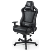 A product image of BattleBull Rider Gaming Chair Black Leather