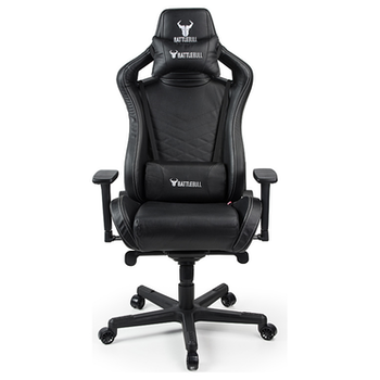 Product image of BattleBull Rider Gaming Chair Black Leather - Click for product page of BattleBull Rider Gaming Chair Black Leather