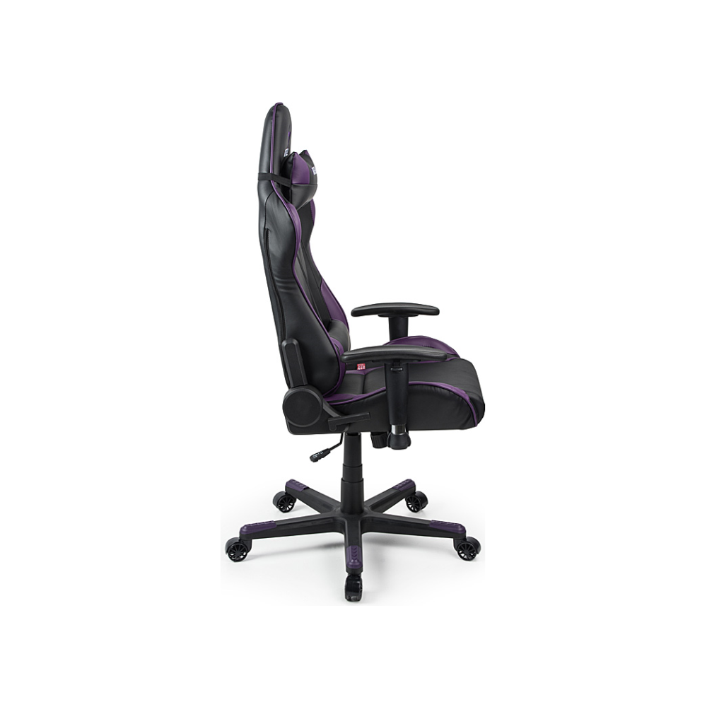 A large main feature product image of BattleBull Combat Gaming Chair Black/Purple