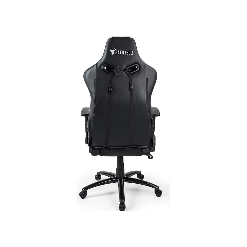 A large main feature product image of BattleBull Diversion Gaming Chair Black/White