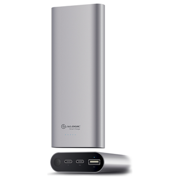 Product image of ALOGIC Prime Series USB Type-C 20100mAh Portable Power Bank with Dual Output - Space Grey - Click for product page of ALOGIC Prime Series USB Type-C 20100mAh Portable Power Bank with Dual Output - Space Grey