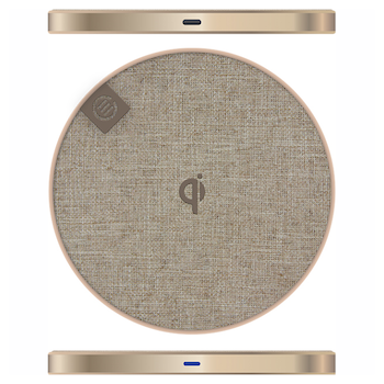 Product image of ALOGIC Prime Series Wireless Charging Pad - 10W - Champagne Gold - Click for product page of ALOGIC Prime Series Wireless Charging Pad - 10W - Champagne Gold