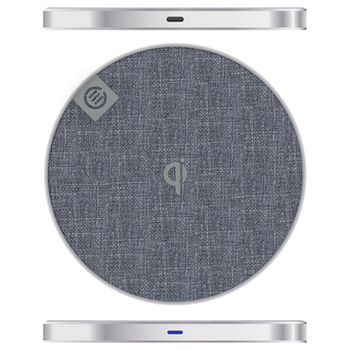 Product image of ALOGIC Prime Series Wireless Charging Pad - 10W - Silver - Click for product page of ALOGIC Prime Series Wireless Charging Pad - 10W - Silver