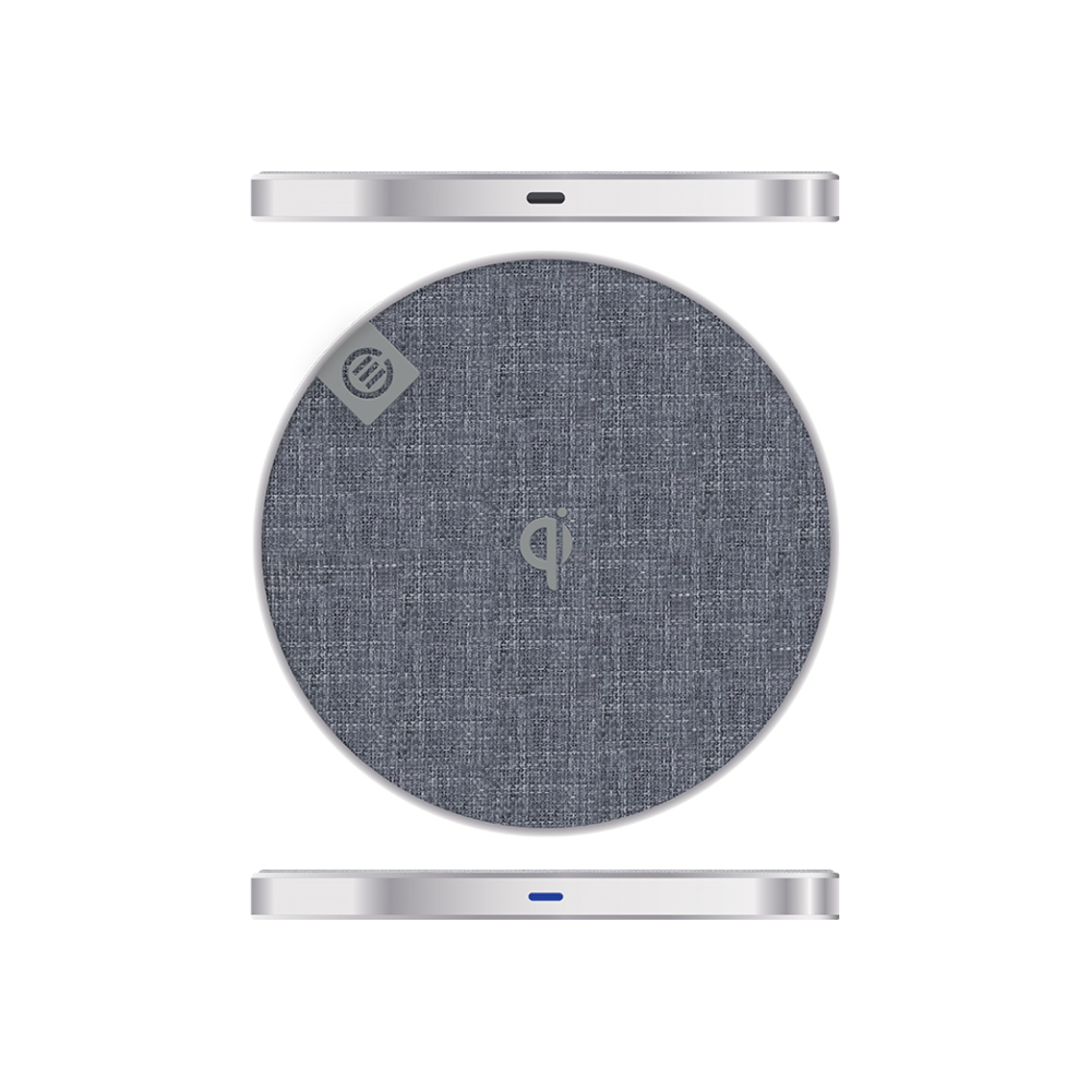 A large main feature product image of ALOGIC Prime Series Wireless Charging Pad - 10W - Silver