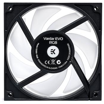 Product image of EK Vardar EVO 120ER RGB 120mm Cooling Fan - Click for product page of EK Vardar EVO 120ER RGB 120mm Cooling Fan