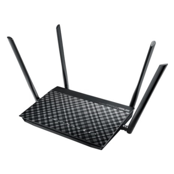 Product image of ASUS DSL-AC55U 802.11ac Dual-Band Wireless-AC1200 Gigabit ADSL/VDSL Modem Router - Click for product page of ASUS DSL-AC55U 802.11ac Dual-Band Wireless-AC1200 Gigabit ADSL/VDSL Modem Router