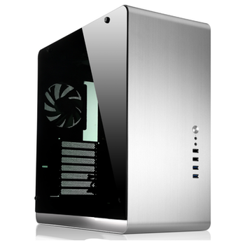 Product image of Jonsbo UMX4 RGB Silver Mid Tower Case w/Tempered Glass Side Panel - Click for product page of Jonsbo UMX4 RGB Silver Mid Tower Case w/Tempered Glass Side Panel