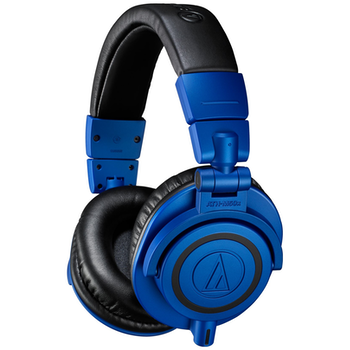 Product image of Audio Technica ATH-M50X Blue Limited Edition Studio Headphones - Click for product page of Audio Technica ATH-M50X Blue Limited Edition Studio Headphones