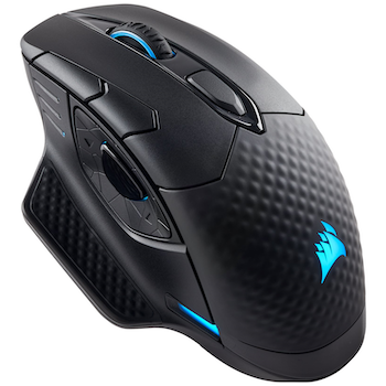 Product image of Corsair Gaming Dark Core RGB Wireless Optical Gaming Mouse - Click for product page of Corsair Gaming Dark Core RGB Wireless Optical Gaming Mouse
