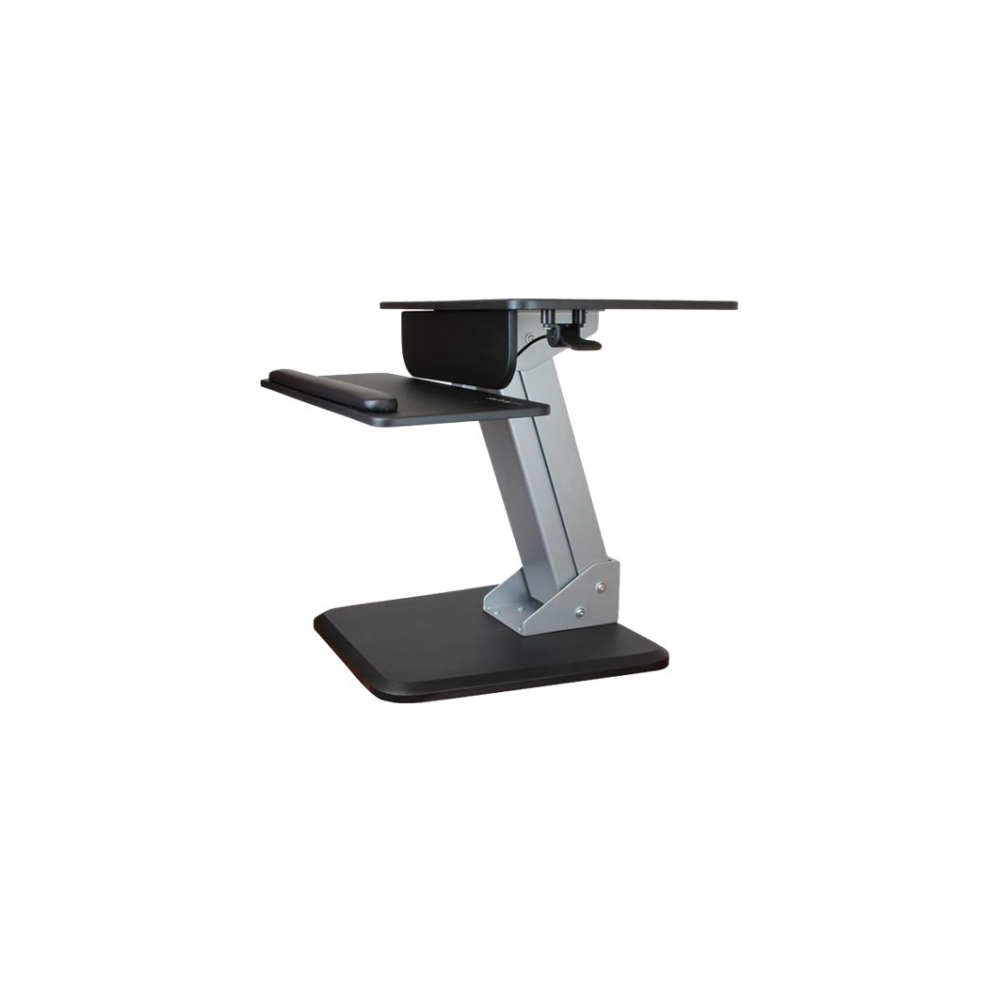 A large main feature product image of Startech Ergonomic Sit/Stand Workstation -One-Touch Height Adjustment
