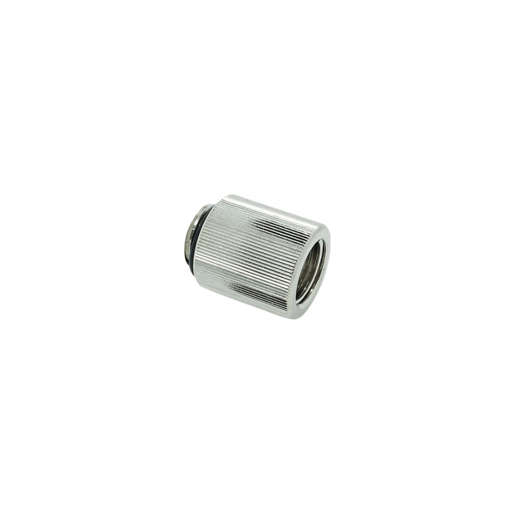 A large main feature product image of EK AF Extender 20mm M-F G1/4 Adapter - Nickel