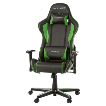Product image of DXRacer F Series PC Gaming Chair - Black & Green w/ Lumbar Support - Click for product page of DXRacer F Series PC Gaming Chair - Black & Green w/ Lumbar Support