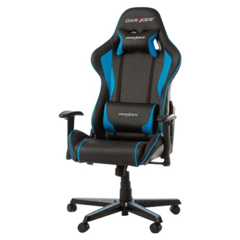 Product image of DXRacer F Series PC Gaming Chair - Black & Blue w/ Lumbar Support - Click for product page of DXRacer F Series PC Gaming Chair - Black & Blue w/ Lumbar Support