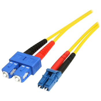Product image of Startech 10m LC/SC Fiber Optic Cable - Single-Mode Duplex 9/125, LSZH - Click for product page of Startech 10m LC/SC Fiber Optic Cable - Single-Mode Duplex 9/125, LSZH
