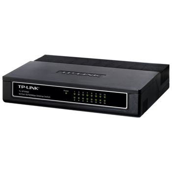 Product image of TP-LINK SF1016D 16-Port Unmanaged Fast Ethernet Switch - Click for product page of TP-LINK SF1016D 16-Port Unmanaged Fast Ethernet Switch