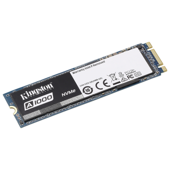 Product image of Kingston A1000 240GB NVMe M.2 SSD - Click for product page of Kingston A1000 240GB NVMe M.2 SSD