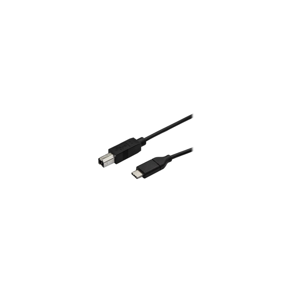 A large main feature product image of Startech 0.5m USB C to USB B Printer Cable - M/M - USB 2.0