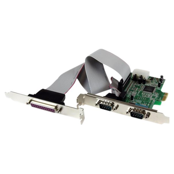 Product image of Startech 2S1P PCIe Parallel Serial Combo Card - Click for product page of Startech 2S1P PCIe Parallel Serial Combo Card