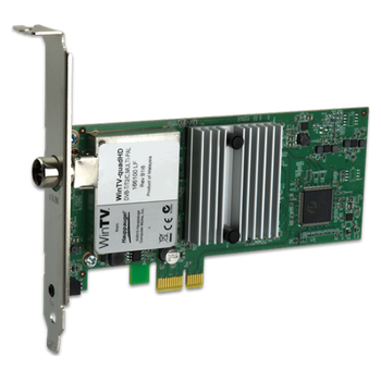 Product image of Hauppauge QuadHD PCIe TV Tuner Card  - Click for product page of Hauppauge QuadHD PCIe TV Tuner Card