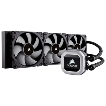 Product image of Corsair Hydro H150i PRO RGB 360mm AIO Liquid CPU Cooler - Click for product page of Corsair Hydro H150i PRO RGB 360mm AIO Liquid CPU Cooler