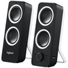 A product image of Logitech Z200 Multimedia Speakers - Midnight Black