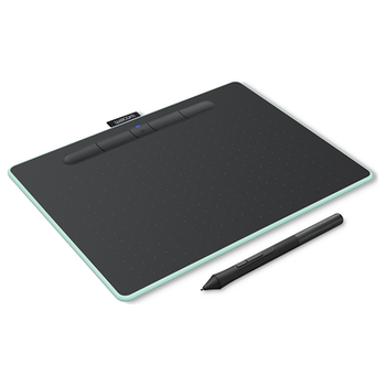 Product image of Wacom Intuos Medium Bluetooth Drawing Pad - Pistachio - Click for product page of Wacom Intuos Medium Bluetooth Drawing Pad - Pistachio